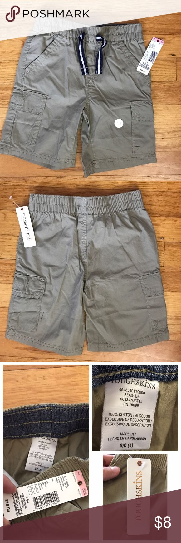 🚀Toughskins boys shorts size 4 small Toughskins boys shorts purchased from sears. Bought last summer and thought the size small was a 5 but it was not as when they arrived tag said small size 4. 🚨BRAND NEW WITH TAGS as pictured. Never worn. toughskins Bottoms Shorts