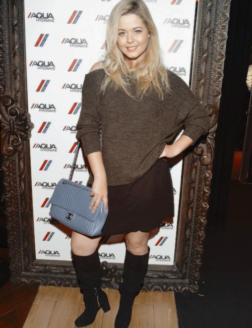 Sasha Pieterse attends a private event at Hyde Staples Center hosted by AQUAhydrate for the Drake and Future concert on September 7, 2016 in Los Angeles, California. #sashapieterse