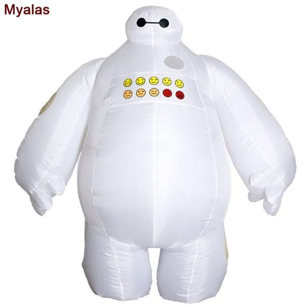 #BestPrice #Fashion Baymax Inflatable costume Big Hero 6 Baymax Halloween costume for men adult inflatable clothing Mascot Cosume For…