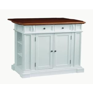 white kitchen island with drop leaf home styles americana white kitchen island with drop leaf 27638