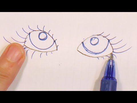 2- tips de dibujo , pestañas , manualilolis video-181 - YouTube