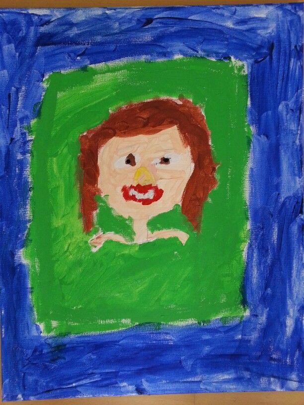 Portret van mama (kantoorkunst aug14)
