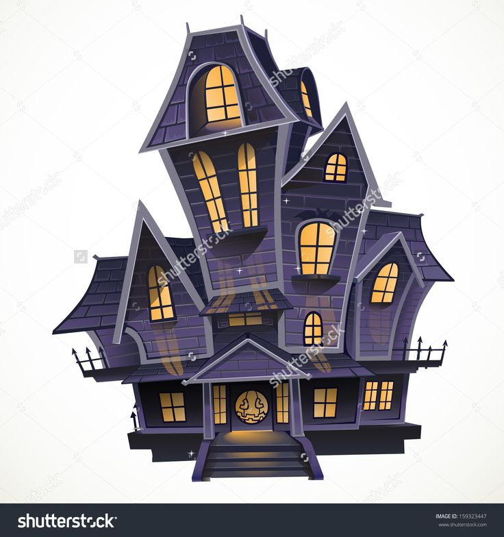 Pin by rokushovr1 on character design halloween haunted - Cartoon haunted house pics ...