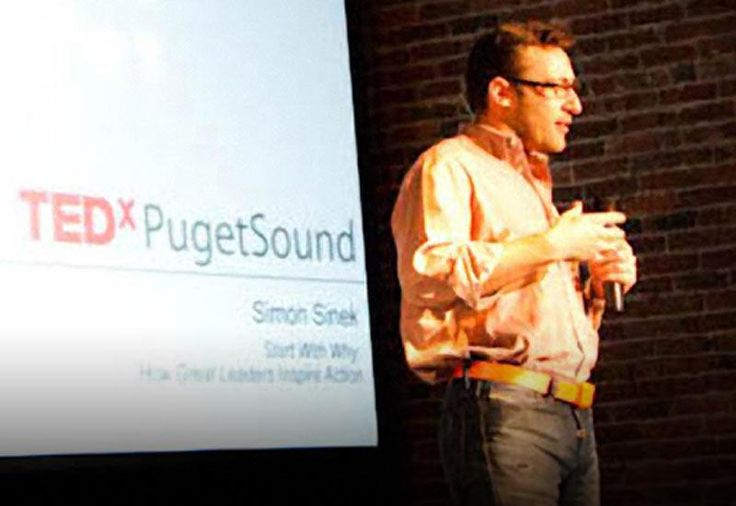 """TED Talk Subtitles and Transcript: Simon Sinek has a simple but powerful model for inspirational leadership all starting with a golden circle and the question """"Why?"""" His examples include Apple, Martin Luther King, and the Wright brothers ... (Filmed at TEDxPugetSound.)"""