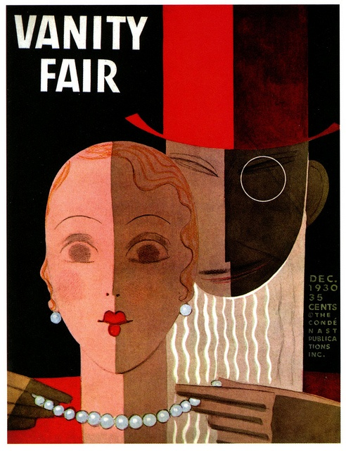 Vanity Fair; December 1930; Illustration by Eduardo Garcia Benito.
