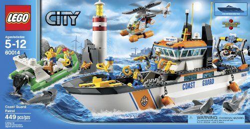 LEGO Coast Guard Patrol  http://www.bestdealstoys.com/lego-coast-guard-patrol-2/