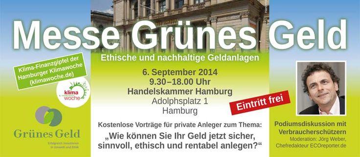 Messe Grünes Geld in  der Handelskammer - http://sommer-in-hamburg.de/2014/mein-hh/business/messe-gruenes-geld-in-der-handelskammer/?utm_source=PN&utm_medium=Supermark&utm_campaign=SNAP%2Bfrom%2BSommer+in+Hamburg