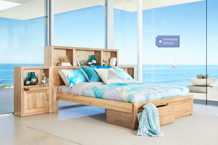 Brookhaven Queen Size Timber Bed | Bedshed