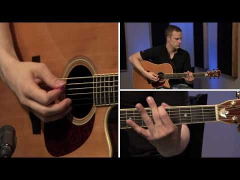 How to tune a guitar by ear. This guy is pretty good at teaching this stuff