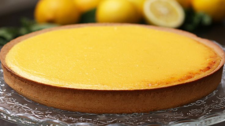 French-Style Lemon Tart (Tarte au Citron) - YouTube