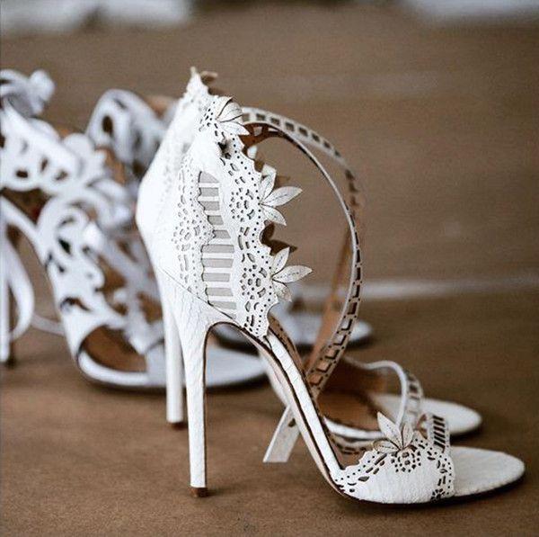 Perfekte Märsche ein Schuhe zu jedem Hochzeitskle…
