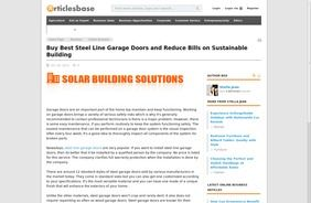 Solar Building Solutions News | Building Solutions Perth, Australia