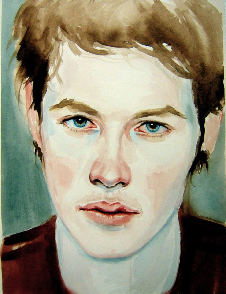 Artist: Kris Knight, Title: Kris  Knight -Sad Eyes - click for larger image