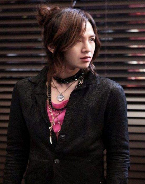 Jang Geun Suk hairstyles for long hair