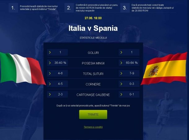 Avancronică şi pronosticuri de la laur1985: Italia vs Spania, ponturi pariuri EURO 2016 - PariuriX.com