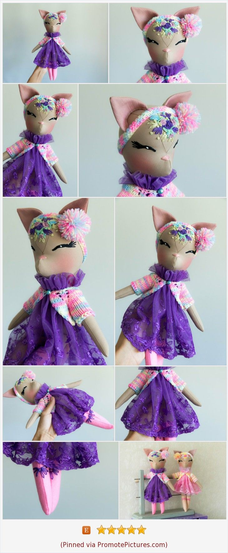 Catdoll Rainbow Kitty Fawndoll Ragdoll