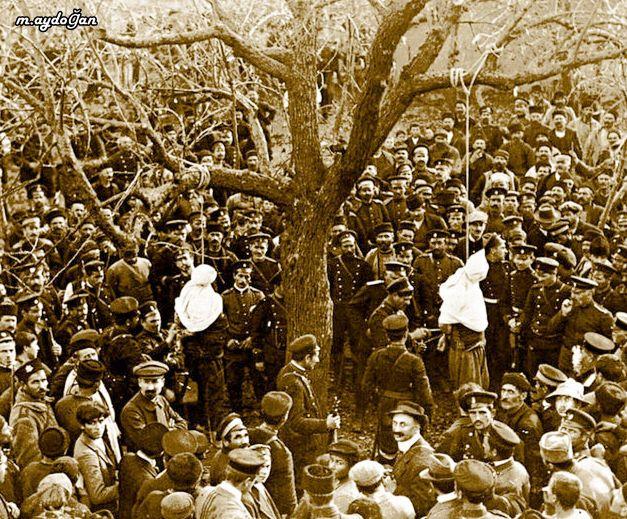 balkan harbinde idam edilen Türk Köylüler