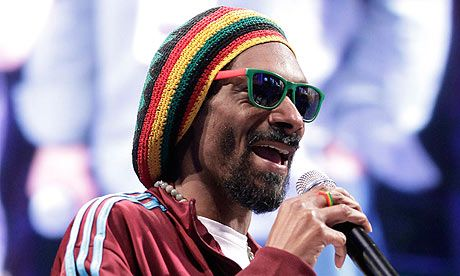 Snoop Dogg aka Snoop Lion (his reggae alter ego)