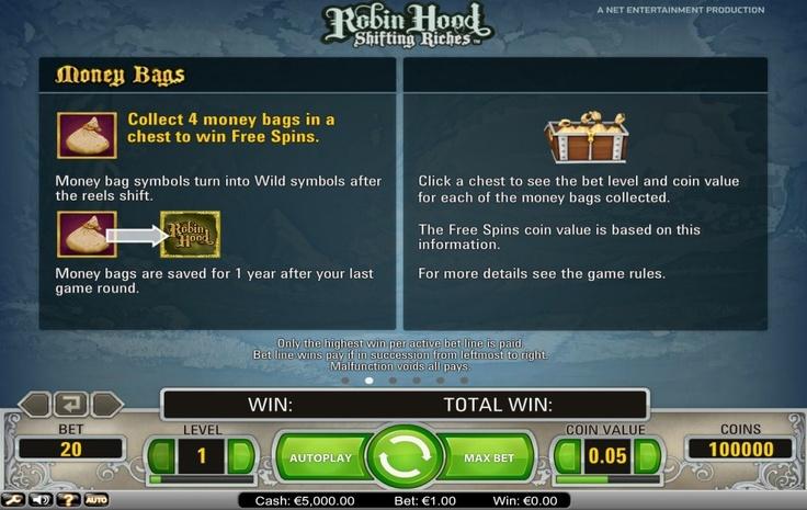 Robin Hood - Online Slot Free Play