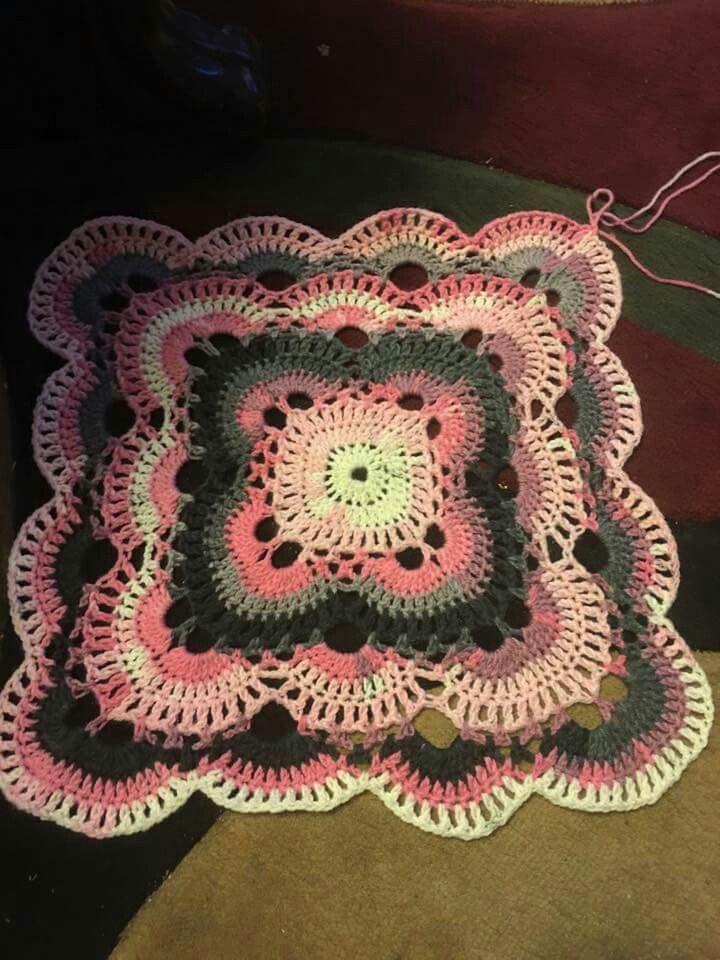 Virus blanket. Crochet Pinterest Blankets
