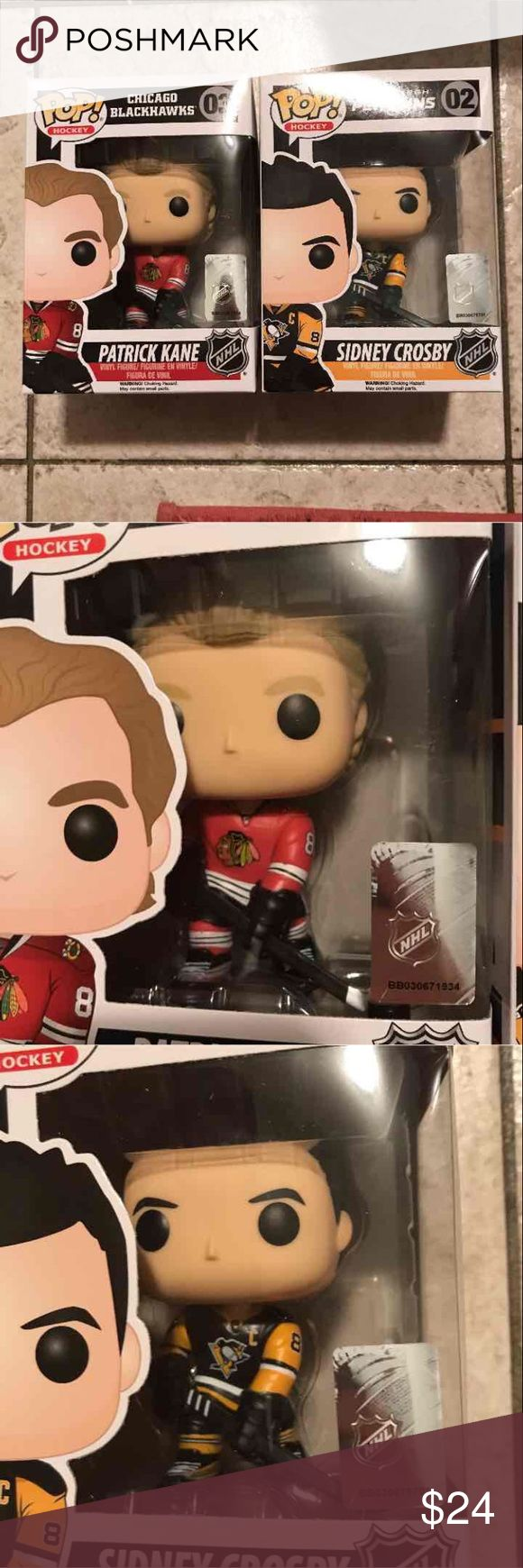 NHL Hockey Funko Pops X 2 (PlzRead) BRAND NEW IN BOX*NO Trades Price is Firm Slight bubbling of package from manufacturer*Please refer to photos Accessories