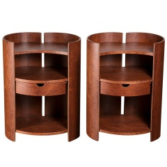 Pair of quot;Geaquot; tables by Kazuhide Takahama for Gavina