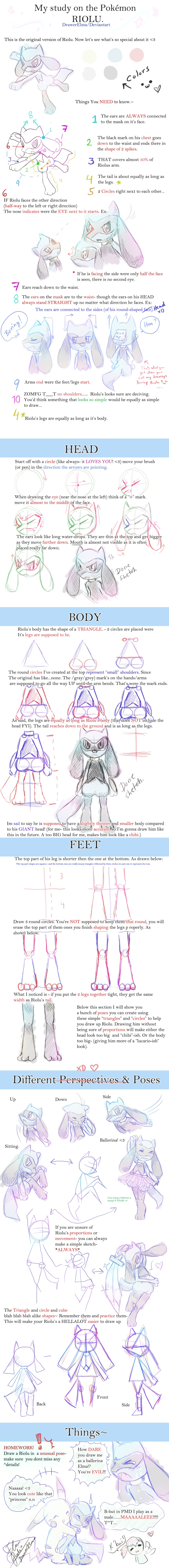 How+to+Draw+Riolu+-+DrawerElma's+Study+by+DrawerElma.deviantart.com+on+@deviantART