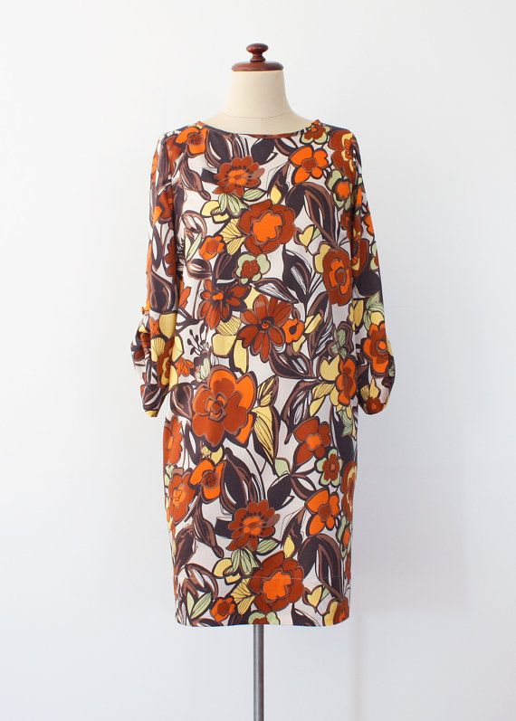 Relaxed Fit Shift Dress