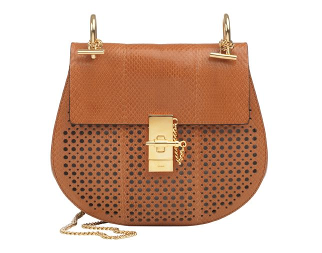 cloe bag - Trend: Leather and Suede. Look: Chloe Drew bag in perforated ...
