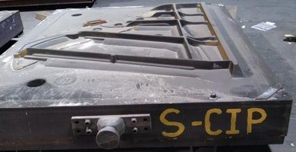 Cast Iron Piano Mold Profile