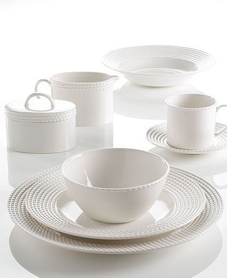 kate spade new york Dinnerware, Wickford Dinnerware Collection - White Dinnerware - Dining & Entertaining - Macy's