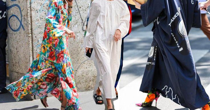 Sackkleider sind ein luftiger Sommer-Trend, mit dem du in nur einer Sekunde sofort gut angezogen bist. Mehr dazu jetzt auf ELLE.de!