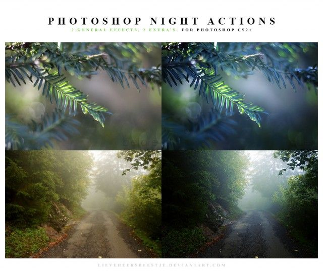 Useful and Amazing Free Photoshop Actions