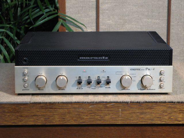Marantz PM-4 Esotec Integrated Amp circa 1980