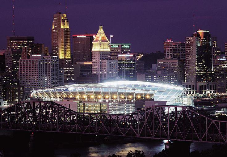Paul Brown Stadium in Cincinnati by NBBJ