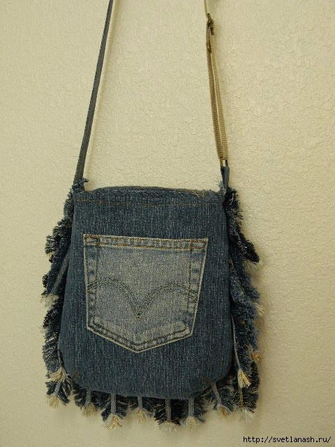 Hi...always use your brain with creative ideas. Throughout the feather bag 34: 32 jeans, one on the handle and one golden.   The valve consists of three parts: two layers of denim and c / b between them. Sewed beads, Czech glass beads, natural stones.  One feather on the handle of the bag.  F