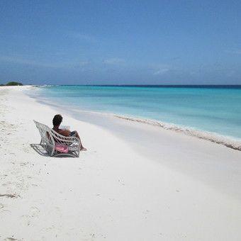 Ziet u uzelf al zitten, genietend van Klein Curaçao?