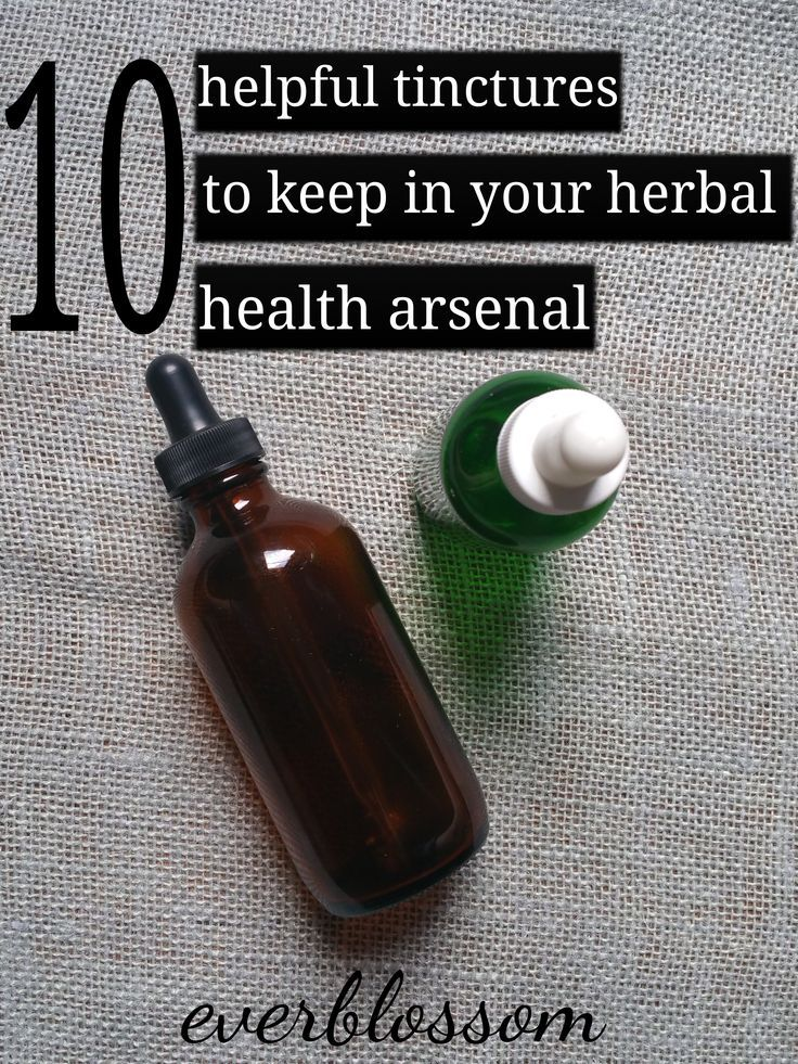 Here are 10 helpful herbal tinctures to keep around for common ailments!