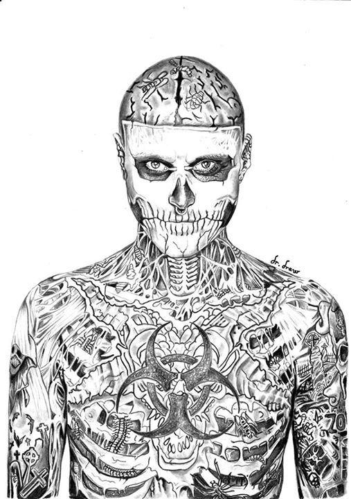 oeuvre de drdraw voici mon dessin de zombie boy techniquement le plus dur que jai fais dcouvrez sa page httpswwwfacebookcomdraydraw