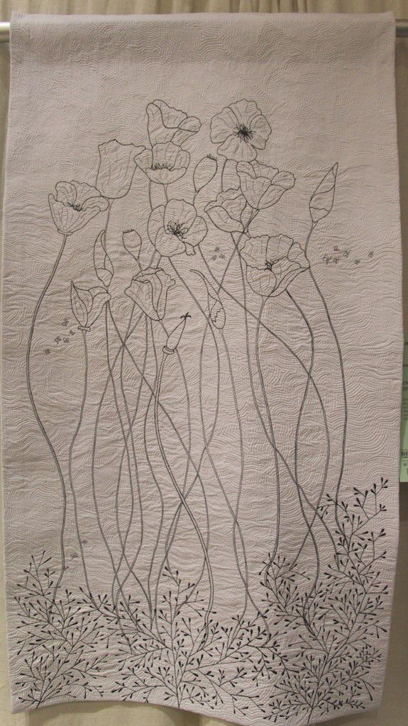 "Jenny K Lyon - Poppies 55""x31"":"