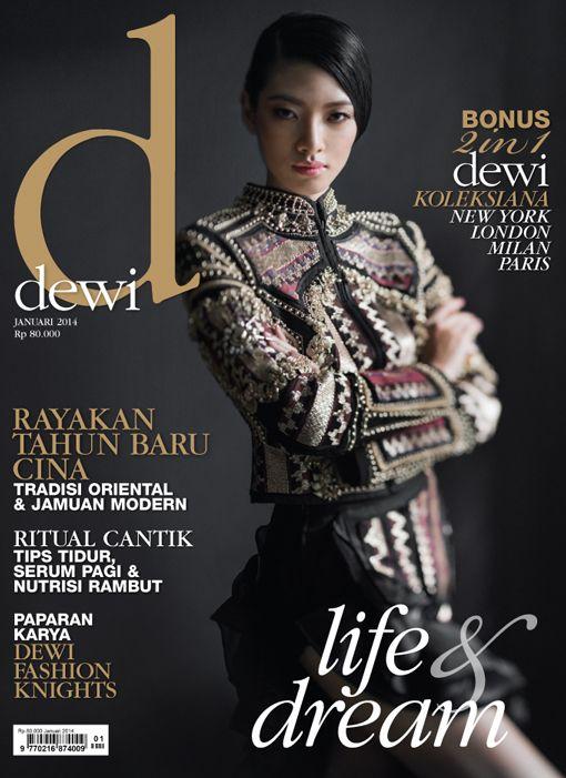 January 2014, Model: Marcella Tanaya, Photographer: Davy Linggar, Stylist: Aldi Indrajaya, Make-up & Hair Do: Qiqi Franky, Wadrobe: Priyo Okataviano