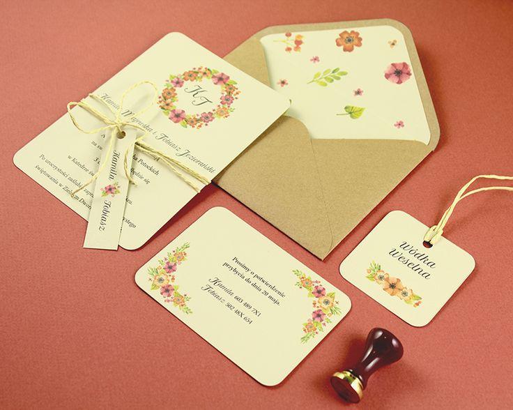 Pracownia Celegarth   Botanic   Red Poppy    #zaproszenia #invitations #zaproszeniaślubne #weddinginvitations #flowers #maki #poppy #celegarth #ślub #wedding #papeteria #stationery #papeteriaślubna #weddingstationery #design #ślubnydesign #weddingdesign