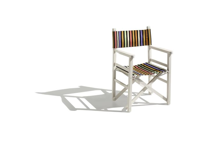 REGISTA folding chair #missonihome design by MissoniHome Studio