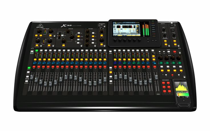 """Behringer x32  used on our """"Live on Location"""".....Love the price and the mixer!"""