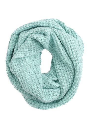 Mint infinity scarf gonna start my  crochet project!
