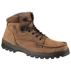 ROCKY Outback GORE-TEX Chukka Hiking Boots for Men - Brown Leather - 8.5M