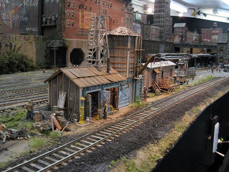 The 2013 kit from Fine Scale Miniatures - George Selios - shown on his layout. Awesome.