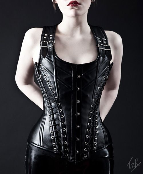 Hellbent for leather.