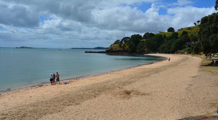 Cheltenham Beach in Devonport, Auckland New Zealand.  Definitely not to be missed when you travel down under.