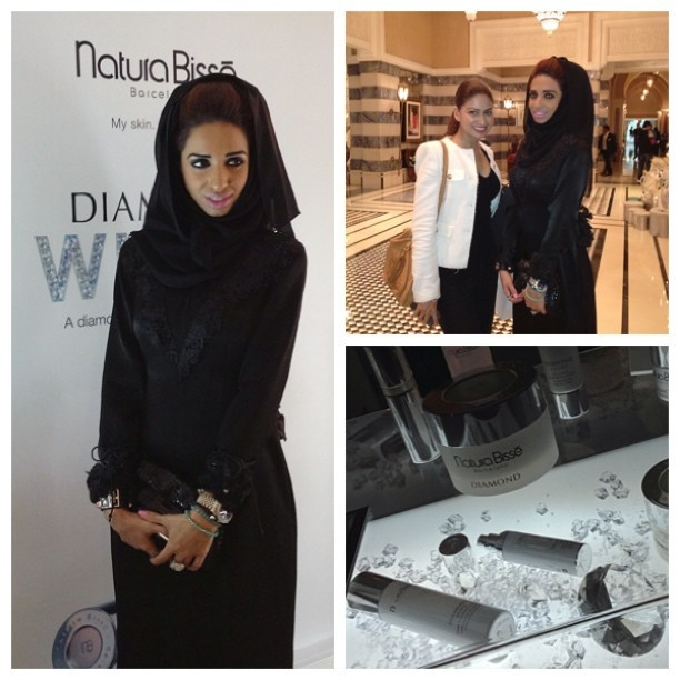 At the Dubai Film Festival in the VIP lounge with Natura Bisse.. It was an amazing experience, met amazing people.    I love Being the brand ambassador for Natura Bisse such a wonderful brand ❤❤❤